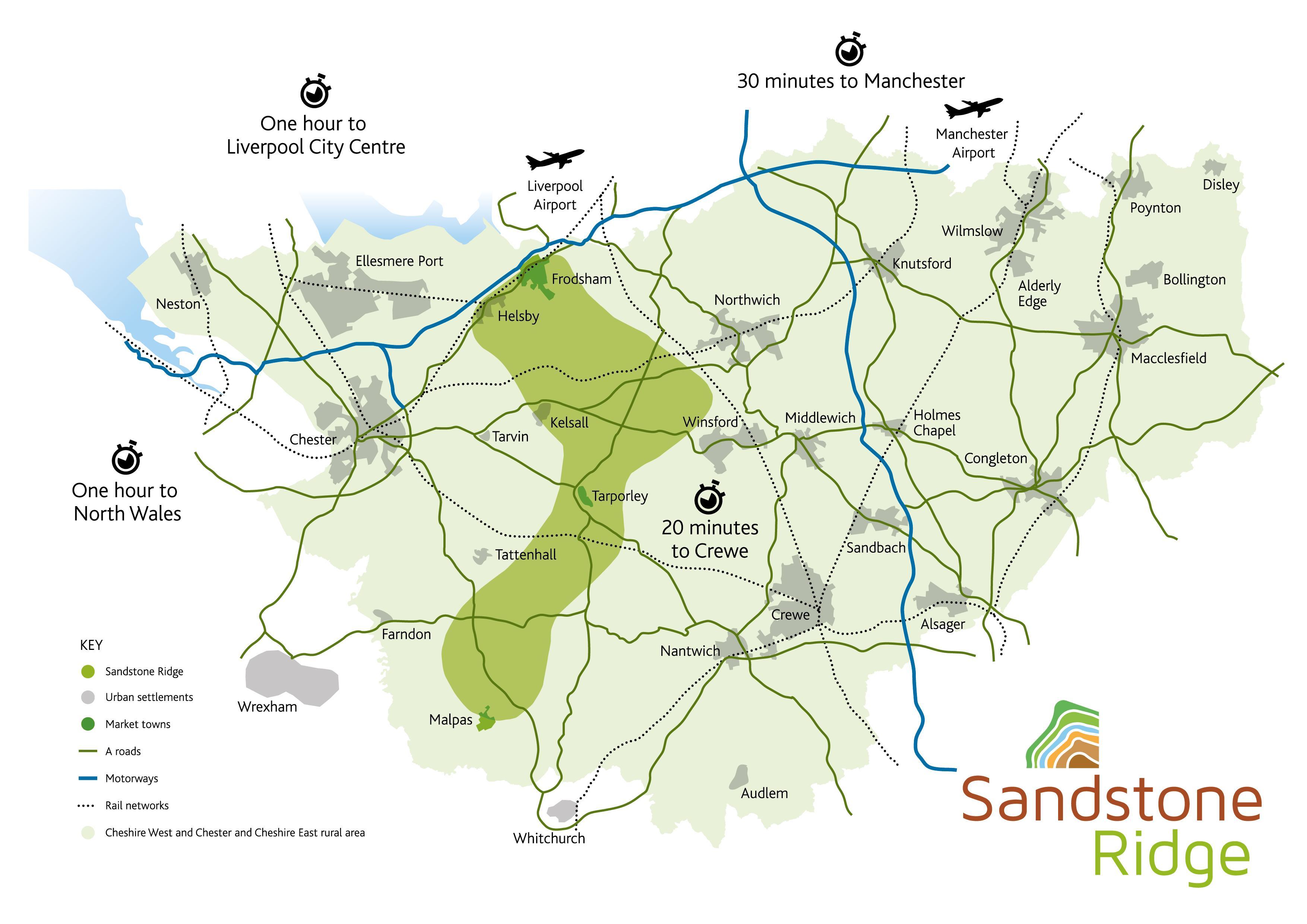 Sandstone Ridge Cheshire