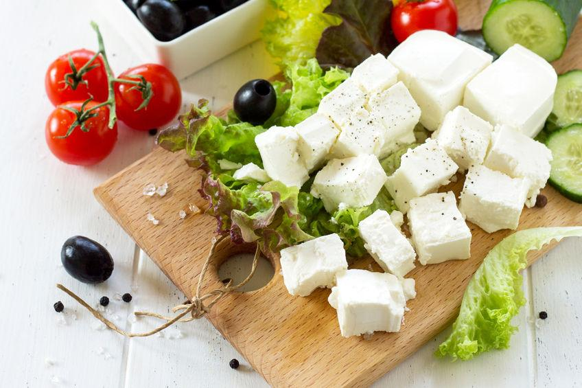 Feta cheese board